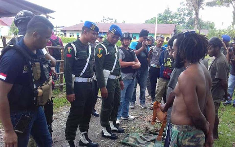 Military and police carry out sweeps in Papua - Undated (Melki Y-KM)