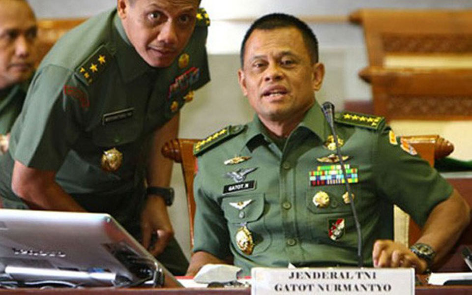 Armed Forces Chief General Gatot Nurmantyo - January 17, 2017 (Jawa Pos)