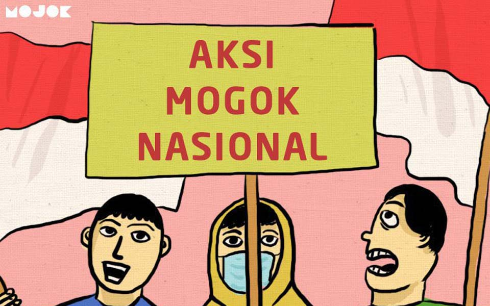 National strike action (Mojok)