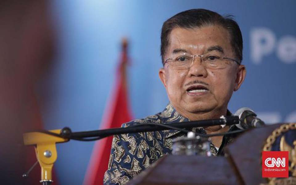 Jusuf Kalla speaking at Human Rights Day commemoration – December 11, 2018 (CNN)