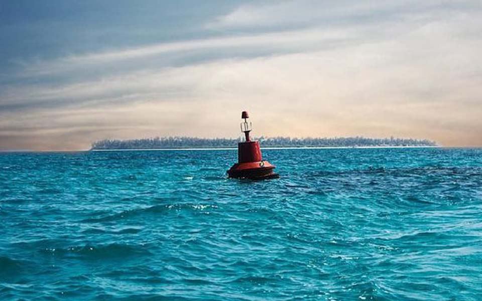 Picture of tsunami early detection buoy (Istockphoto/Augustine Fernandes)