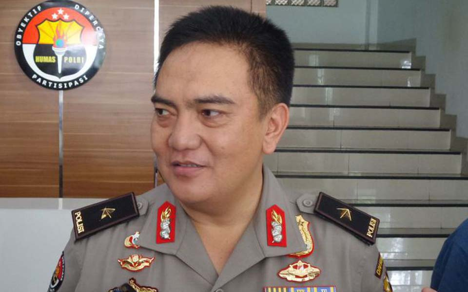Police public information division chief Mohammad Iqbal (Kompas)