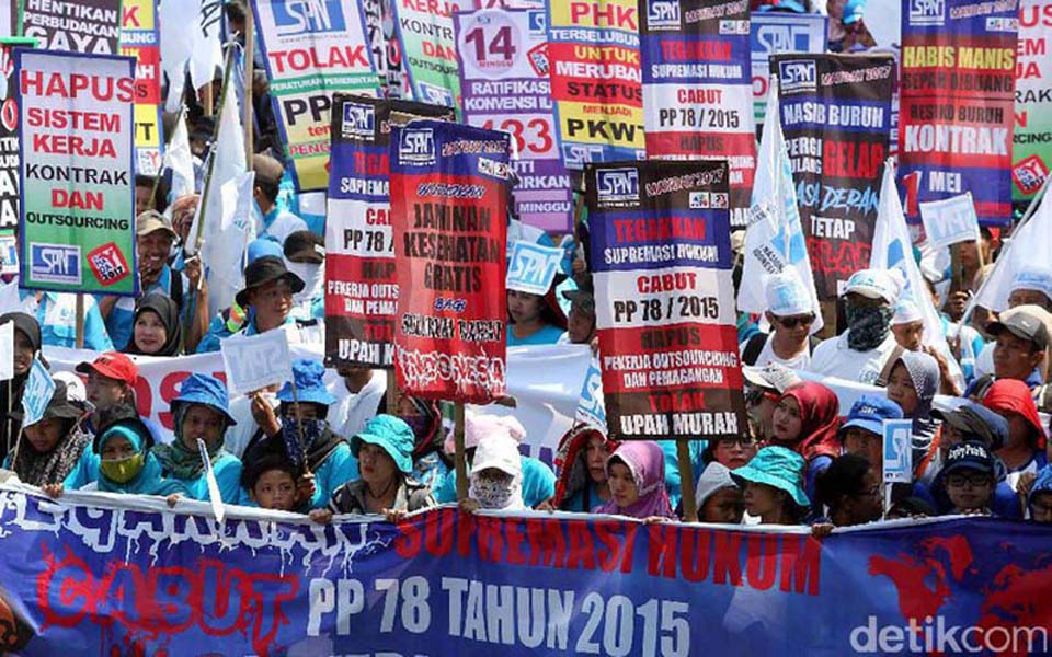 Trade union to announce presidential candidate on May Day (Detik)