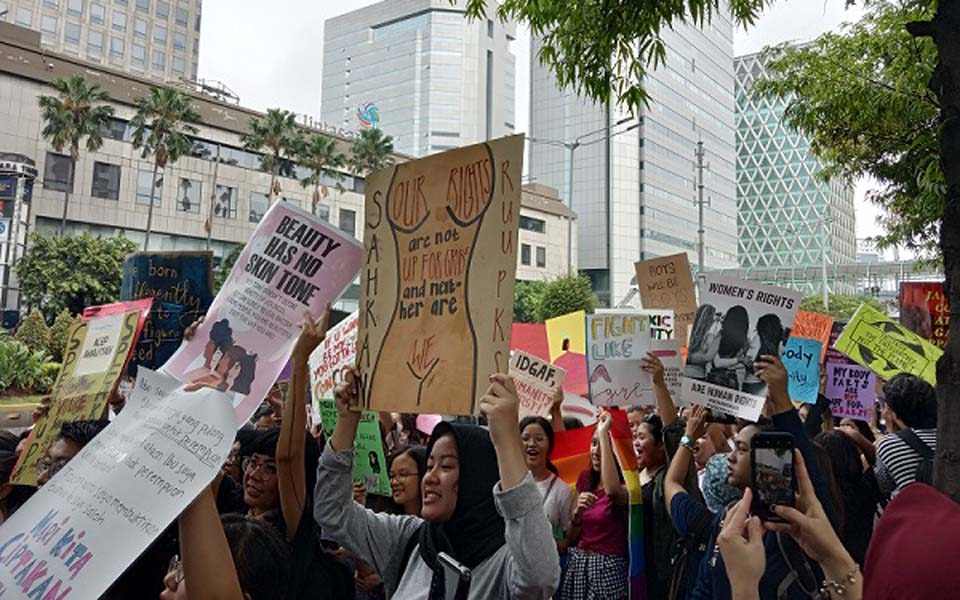 2019 Women's March in Jakarta – April 27, 2019 (Alinea)