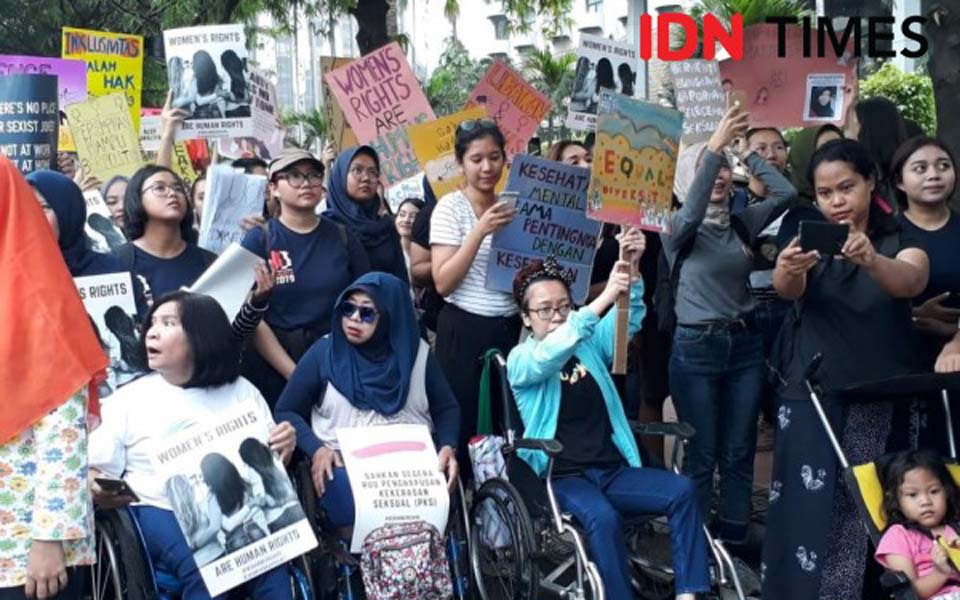 2019 Women's March in Jakarta – April 27, 2019 (IDN Times)