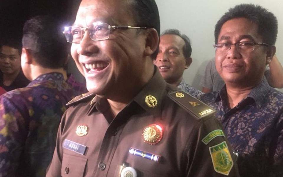 AGO Law and Information Centre Chief Mukri – February 1, 2019 (Kompas)