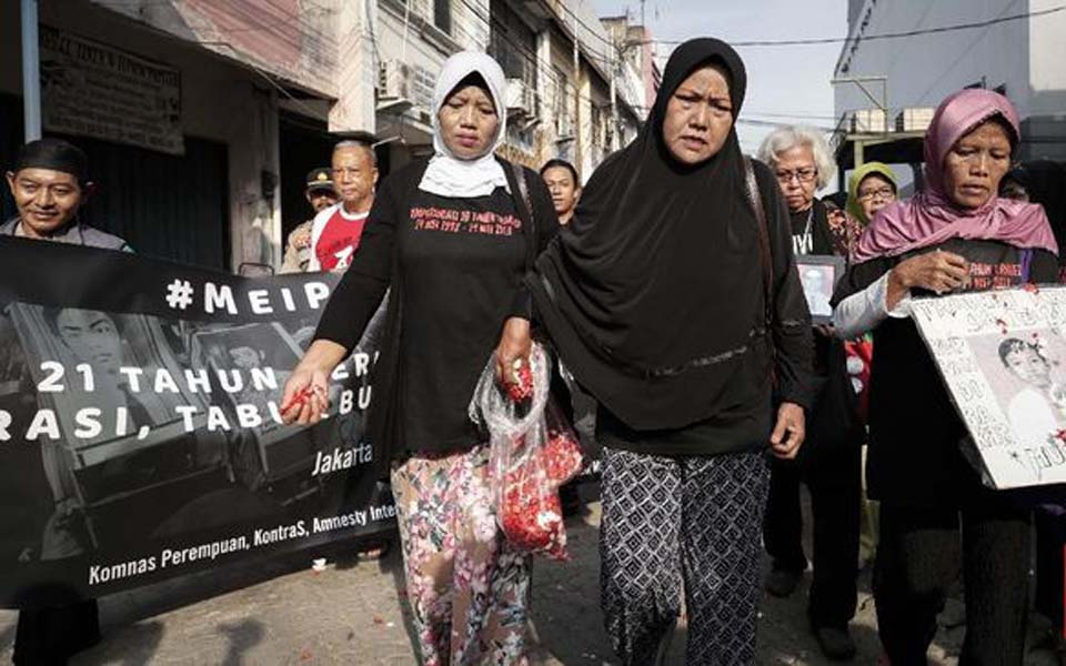 Commemoration of the May 1998 tragedy in Jakarta – May 13, 2019 (CNN)