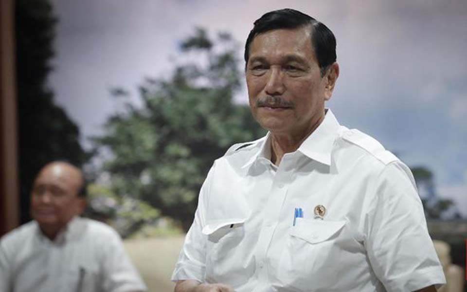 Coordinating Minister for Maritime Affairs Luhut Binsar Pandjaitan (CNN)