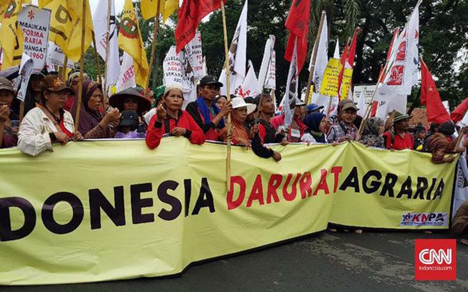 KPA protest on National Farmers Day (CNN)
