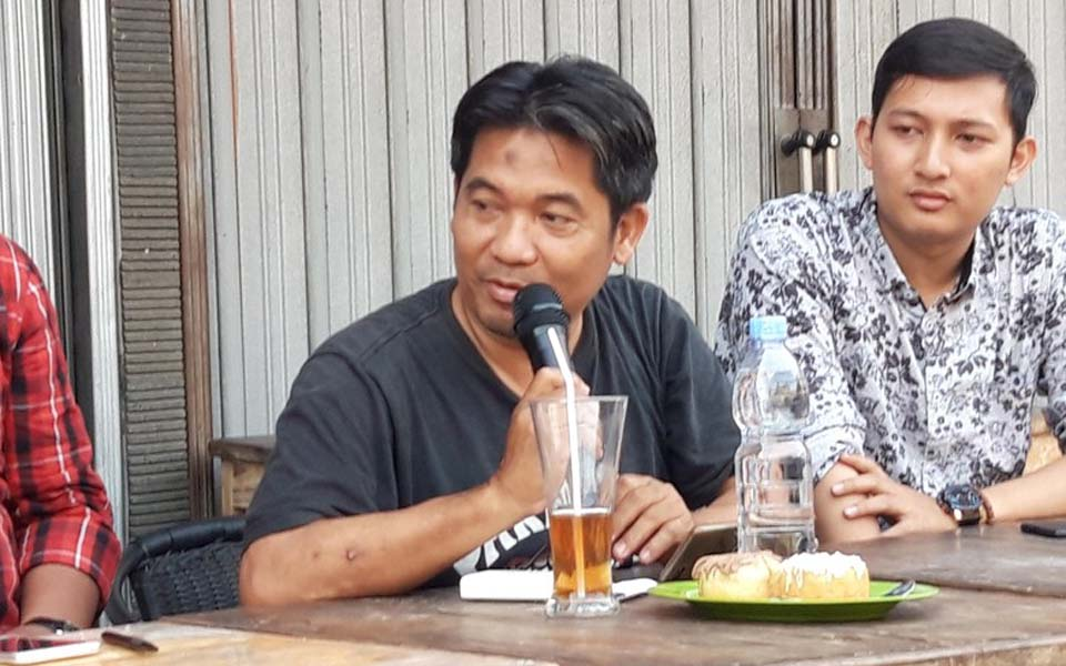 Lingkar Madani director and founder Ray Rangkuti (Detik)
