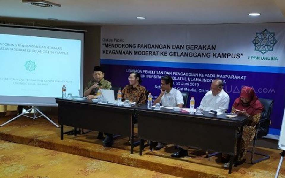 LPPM UNUSIA discussion in Jakarta - June 25, 2019 (Suara)