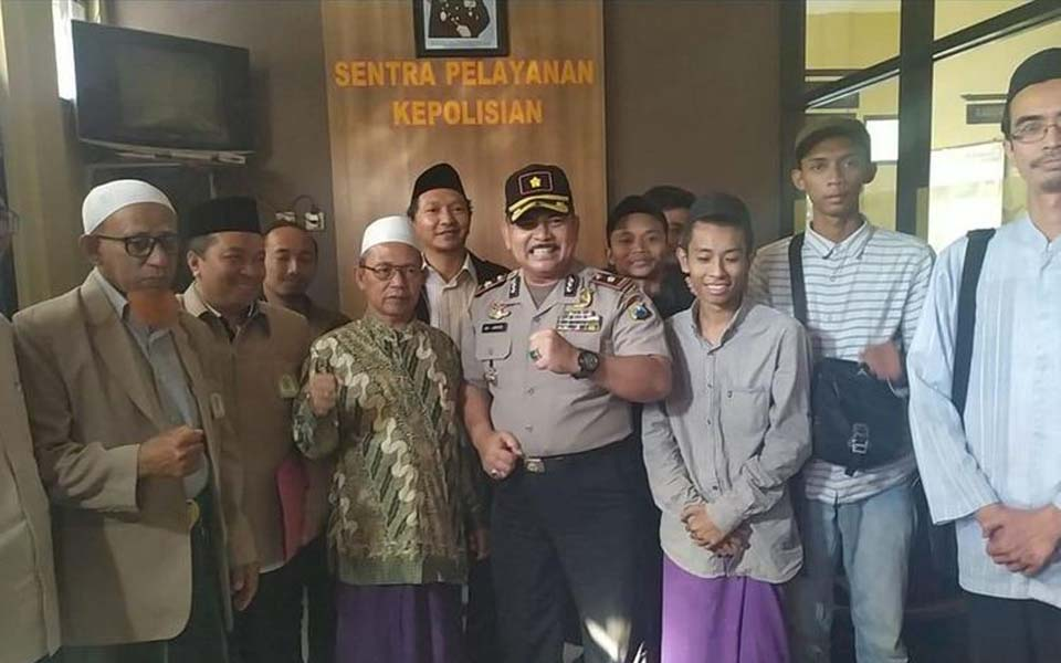 Mediation between police, Vestpa Literacy and Probolinggo MUI – July 31, 2019 (Istimewa)