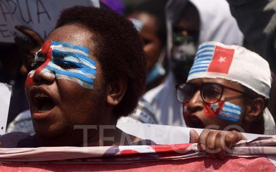 Papuan students demonstrate in Bandung – September 2, 2019 (Tempo)
