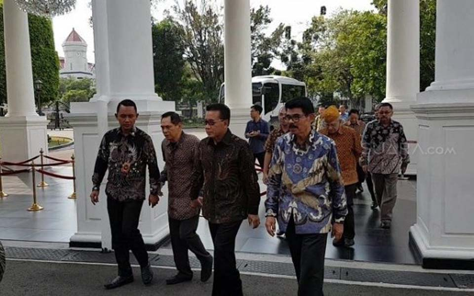Retired TNI generals at State Palace – May 31, 2019 (Suara)