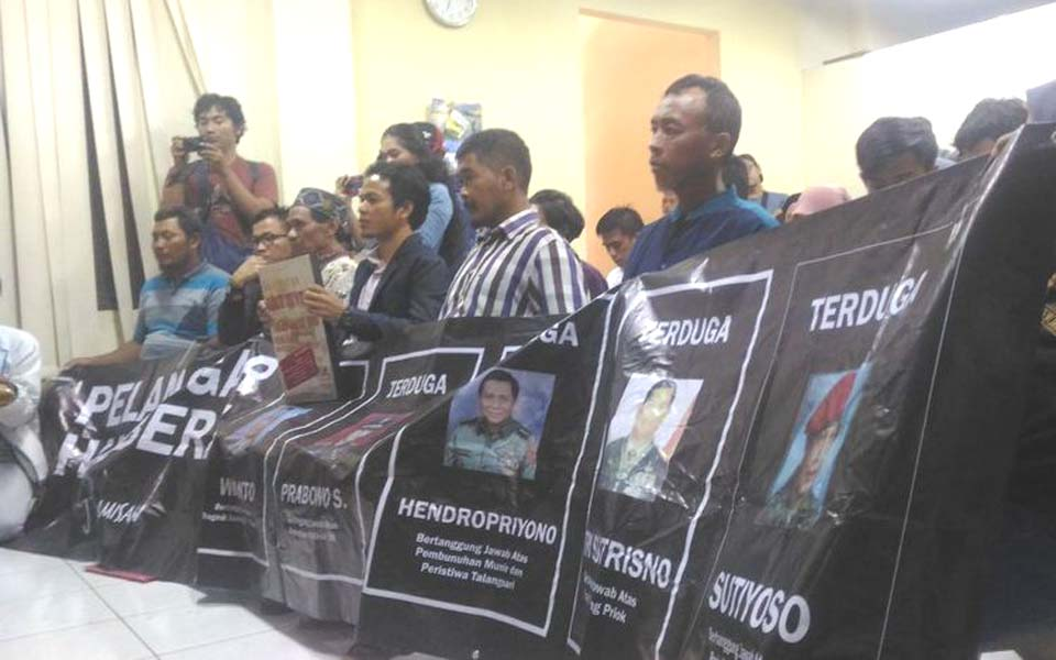 Talangsari victims at Komnas HAM in Jakarta – March 4, 2019 (Kompas)