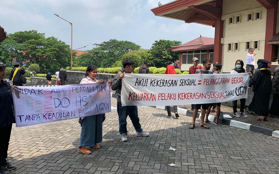 UGM protest over unresolved rape case – February 20, 2019 (Arah Juang)