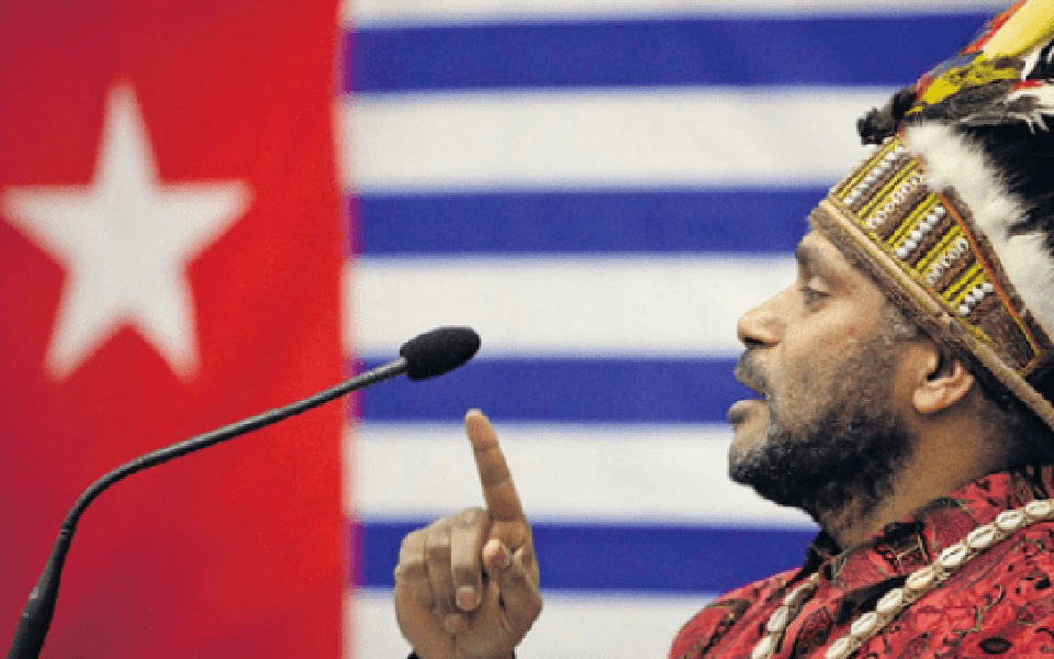 United Liberation Movement for West Papua Chairperson Benny Wenda (ULMWP)