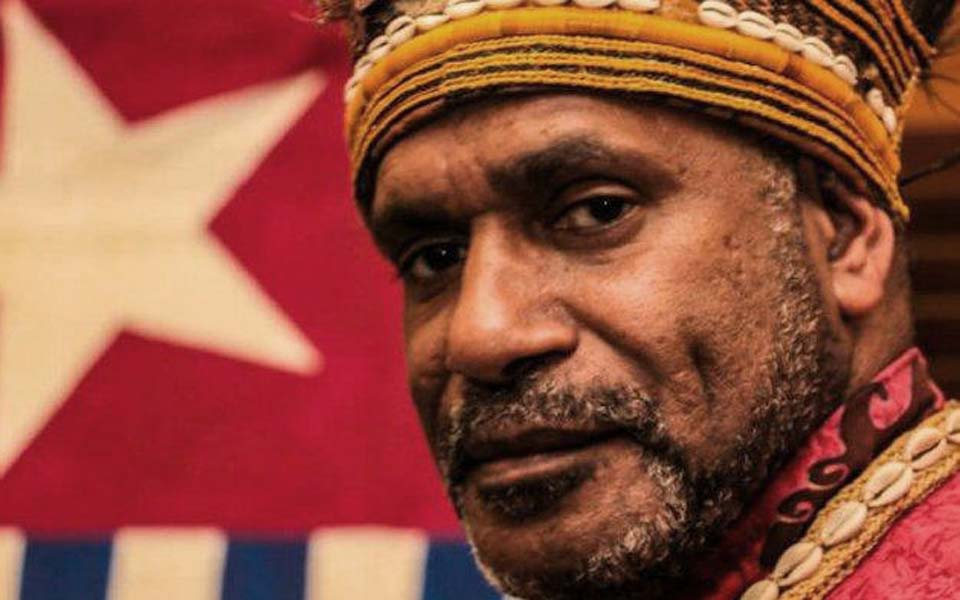 West Papuan independence leader Benny Wenda (RNZI)