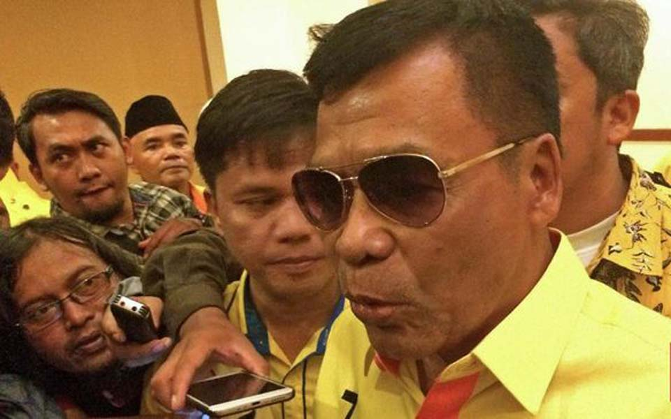 Working Party deputy chairperson Muchdi Purwopranjono (CNN)